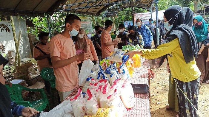Jaga Kestabilan Harga, Disdag Kalsel Gelar Pasar Murah Ramadhan,Terapkan Protokol Kesehatan