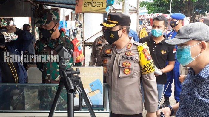 KaltengPedia - Pasar Danau Mere Kapuas Dijadikan sebagai Pasar Tangguh Covid-19