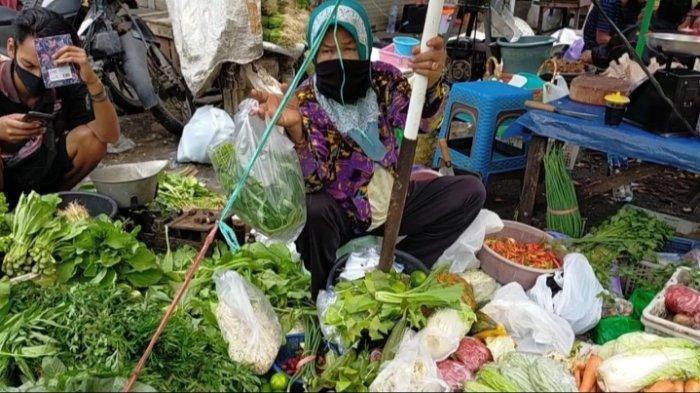 Pascabanjir, Harga Bayam di Pasar Banjarbaru Melambung, Pasokan dari Petani Kosong