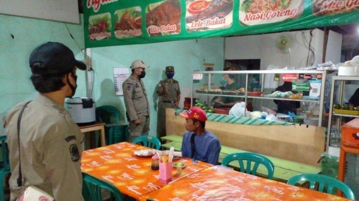 12 Warung Makan Langgar Jam Operasional PPKM Level IV Banjarbaru