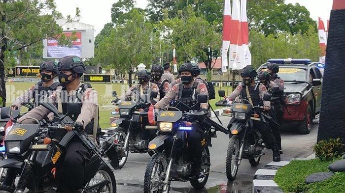 Polda Kalteng dan Korem Tingkatkan Patroli Setelah Penetapan Pemenang Pilgub
