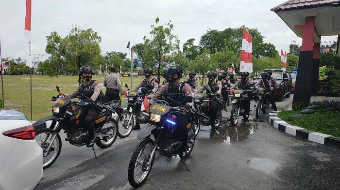Jelang Bulan Ramadan, Patroli Kamtibmas Palangkaraya Kalteng Ditingkatkan