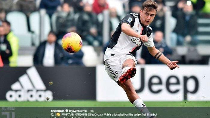 Kontak dengan Daniele Rugani, Pemain Juventus Paulo Dybala Diberitakan Terpapar Covid-19