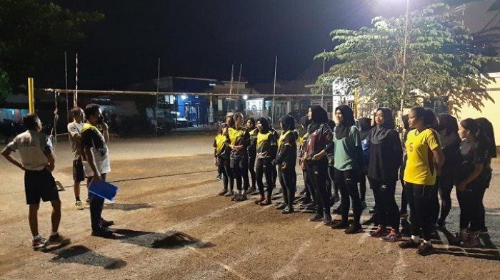 Hadapi Kejurprov 2021 dan Porprov 2022, PBVSI Banjarbaru Gelar Seleksi Pemain