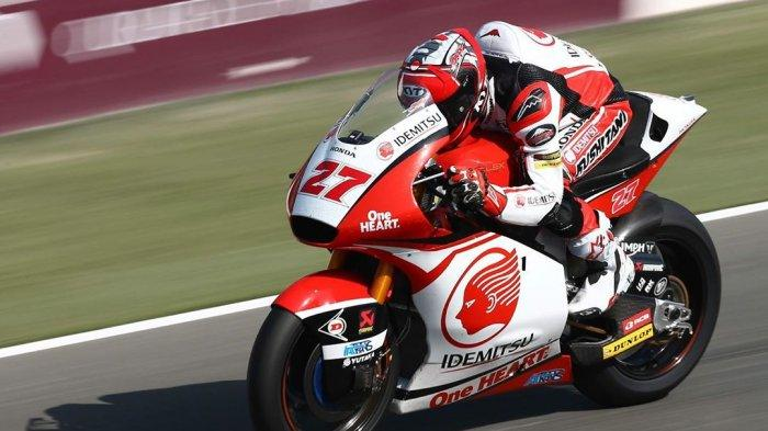 Andi Gilang Alami Kecelakaan di Latihan Bebas Moto3 MotoGP Catalunya 2021, Insiden Disesalkan Honda