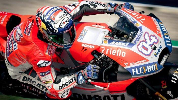 Hasil Latihan Bebas (FP) 1 MotoGP San Marino 2018 Sirkuit Misano Italia - Dovizioso Tercepat, Rossi?