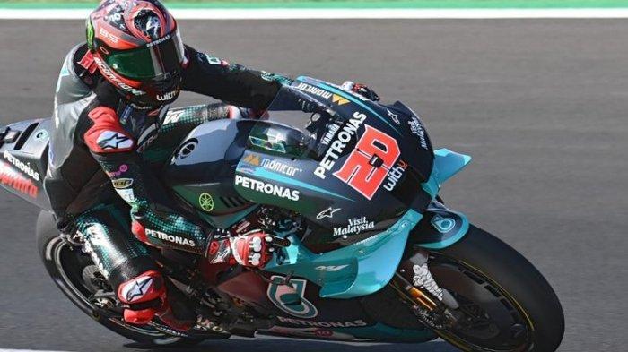Hasil Kualifikasi MotoGP Spanyol 2021 : Quartararo Pole Position, Rekan Setim Valentino Rossi Kedua
