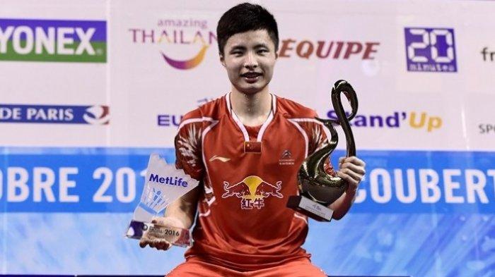 Hasil Final Piala Thomas 2018 - Shi Yuqi Kalahkan Kenta Nishimoto, Skor Jepang vs China Jadi 1-2