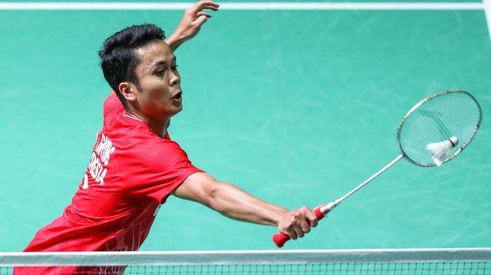 SESAAT LAGI Anthony Ginting! Hasil Hong Kong Open 2019, Live Streaming BWF, Ahsan/Hendra Juara II