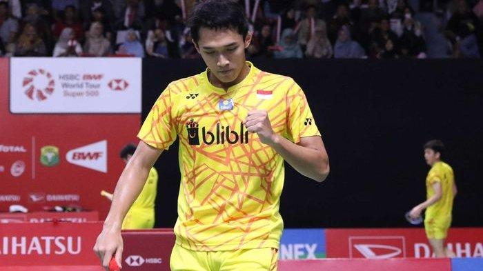 Live Streaming Perempatfinal Indonesia Open 2019 di Trans7 TVRI & Djarum Badminton, Jonatan Main