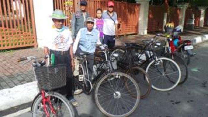 Mengintip Koleksi Penggemar Sepeda Antik di Kalsel,Zalfi Berburu Ontel Sampai ke Belanda