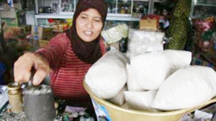 Gula Kosong di Pasaran di Banjarmasin, Harganya Meroket hingga Rp 19 Ribu Per Kilo, Alasannya ini