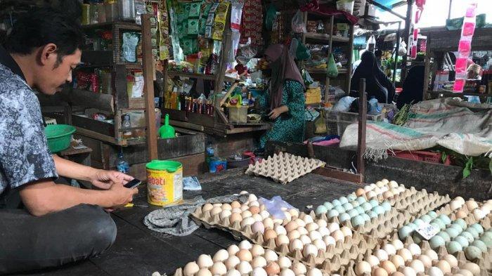 Harga Telur Ayam Ras di Banjarmasin Cenderung Turun Tiap Pekan Rp 1.000