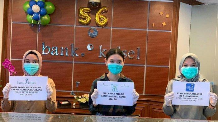 Cegah Penyebaran Covid-19, Bank Kalsel Imbau Nasabah Bertransaksi Via Mobile Banking
