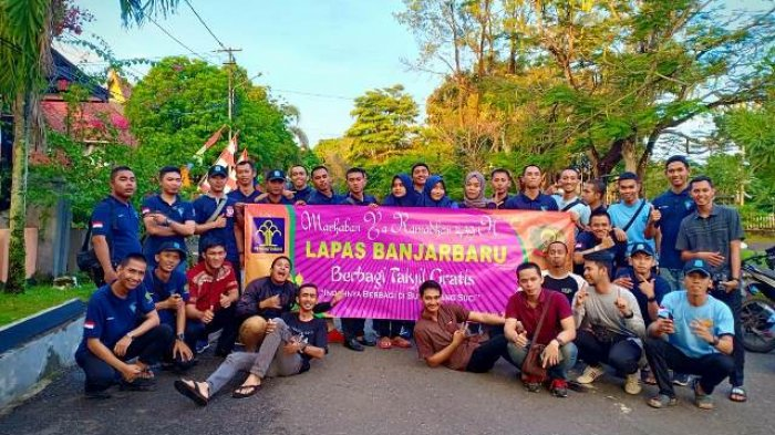 Pegawai Lapas Banjarbaru Turun ke Jalan, Pemulung Ikut Jadi Sasaran