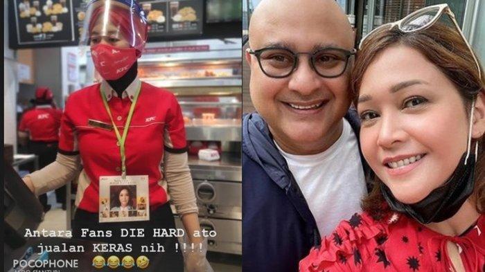 Pegawai Rumah Makan Gantung Wajah Maia Estianty Sambil Layani Pembeli, Istri Irwan Mussry Bereaksi