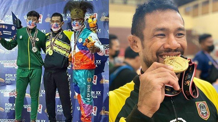 PON XX Papua 2021, Kalahkan Pegulat Jatim di Final, Fahriansyah Persembahkan Emas Kedua Untuk Kalsel
