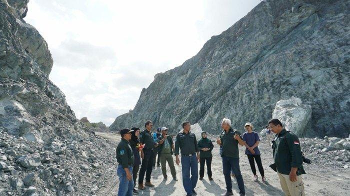 Persiapan Geopark Kelas Dunia, Pejabat Pemprov Kalsel Kunjungi Kabupaten Tanbu