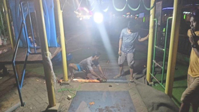 Fasilitas Permainan Anak di Siringlaut Kotabaru Rusak,  Kadis DP3AP2KB Sampaikan Imbauan ini