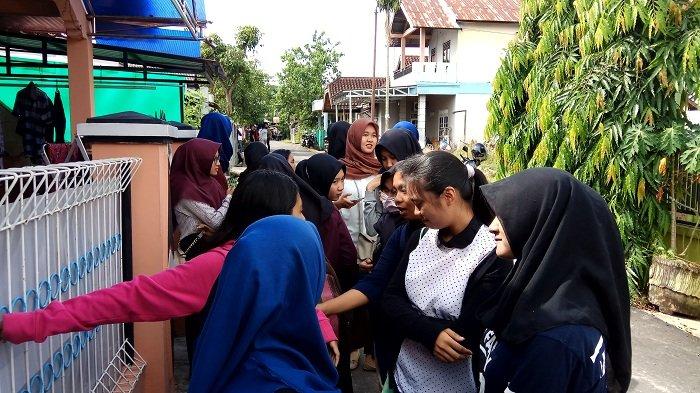 Warga SMAN 2 Banjarbaru Juga Turut Bersedih, Rizky Ternyata Mantan Wakil Ketua OSIS