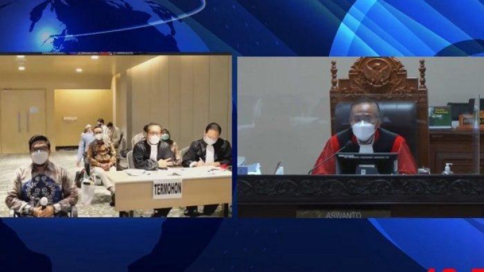 Berlangsung Lebih Dari 9 Jam, 15 Saksi Hadir di Sidang MK Perkara PHPU Pilgub Kalsel Tahun 2020