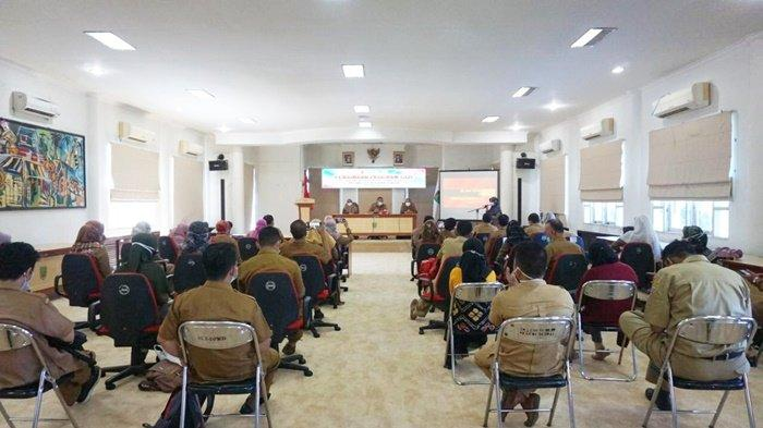 Dinkes Provinsi Kalsel Sosialisasikan Pembinaan Program Gizi di Kabupaten Balangan
