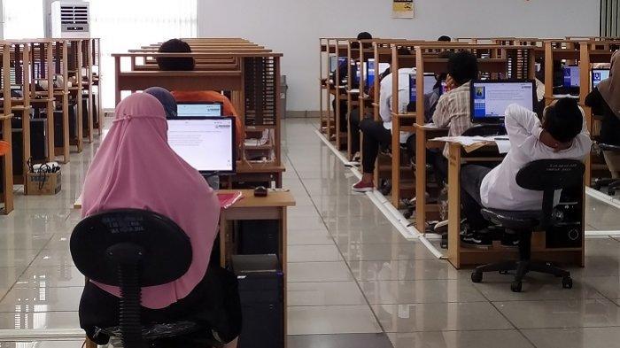 Demi Ikut UTBK SBMPTN 2021, Calon Mahasiswa ULM Ini Rela Datang dari Sampit Kalteng