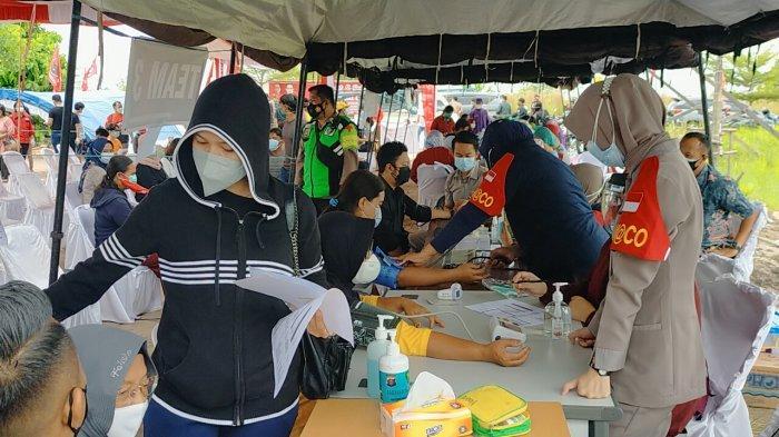 Parpol Turut Gelar Vaksinasi Massal, Total Sasaran Vaksinasi Kalteng Baru 19 Persen