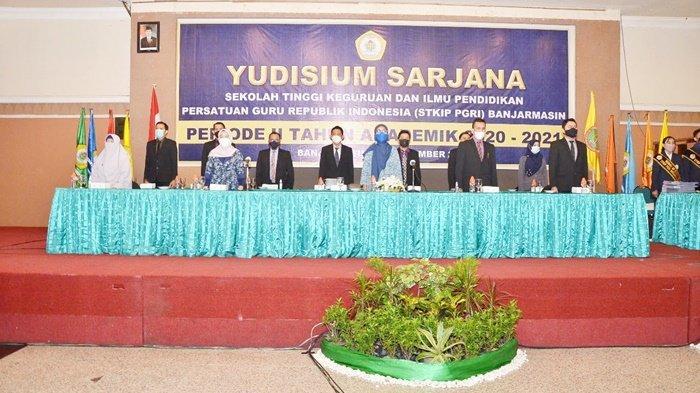 STKIP PGRI Banjarmasin Gelar Yudisium di Hotel Banjarmasin Internasional