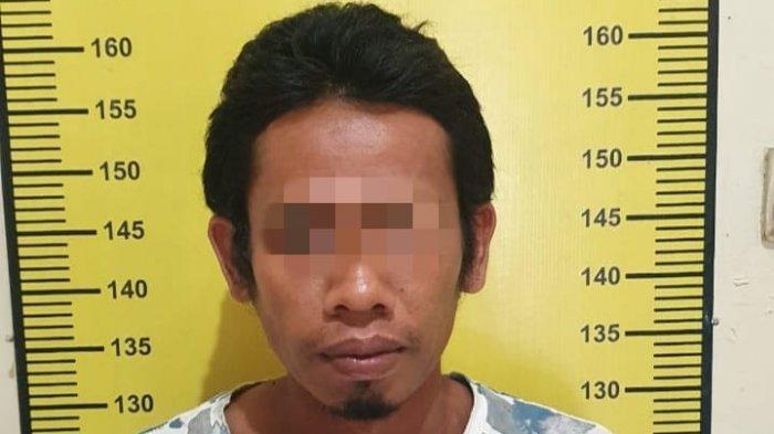 Narkoba Kalsel, Terlibat Narkotika, Pria Desa Takulat Tabalong Berusaha Kabur dan Melawan Petugas