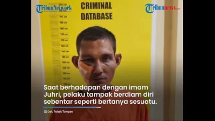 Jadi Viral di Pekanbaru, Alasan Pelaku Tampar Imam Sholat Subuh Bikin Geram, Polisi Terus Dalami