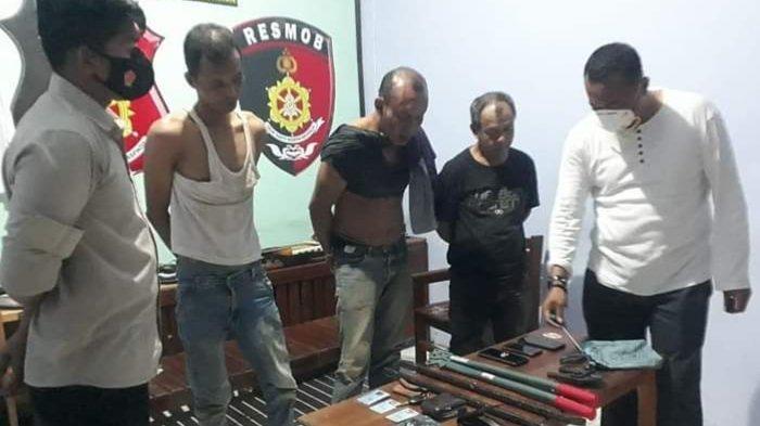 Polisi Gabungan Kalteng Gagalkan Aksi Tiga Spesialis Pencuri Lintas Kabupaten