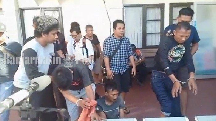 Tiga Pelaku Pencurian Uang Nasabah Bank Modus Pecah Kaca Mobil di Palangkaraya Dibekuk di Pontianak