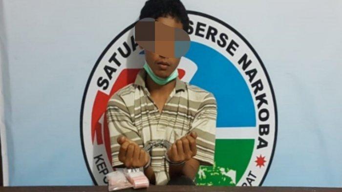 Pengedar Narkoba Pangkalanbun Ditangkap, Polisi Amankan 14 Paket Sabu