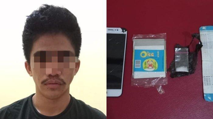Narkoba Kalsel : Cari Paketan Sabu, Pria Tabalong Ini Ditangkap Polsek Tanjung
