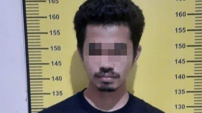 Pelaku sabu AT diamankan satresnakorba Satresnarkoba Polres Tabalong.