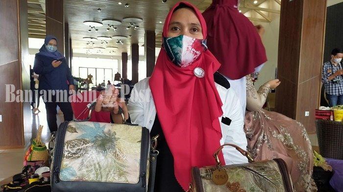 Tas Kulit Unik Motif Alam Menawan Hati, Produk UMKM Kabupaten HST