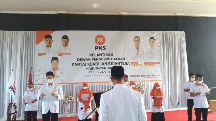 Pengurus PKS Kabupaten Tapin Komitmen Rangkul Kaum Milenial