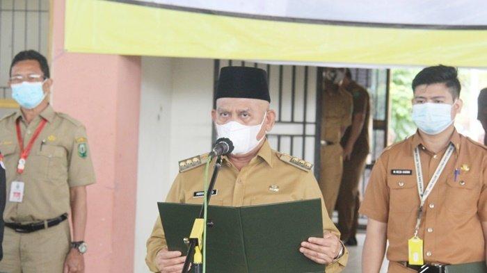 Bupati HSU H Abdul Wahid HK Melantik 291 Pengawas Sekolah