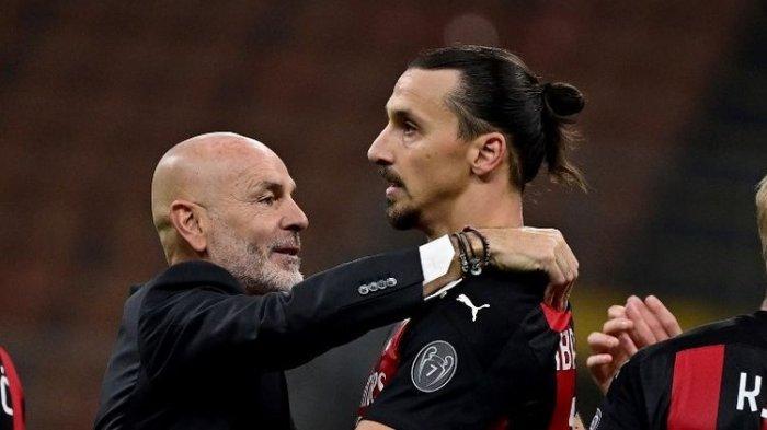 Duel dengan Red Star di Liga Europa, Stefano Pioli Pikirkan  AC Milan vs AS Roma dalam Liga Italia