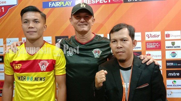 Jelang Kalteng Putra vs Persipura di Liga 1 2019, Rafael Bonfim Kembali Perkuat Laskar Isen Mulang