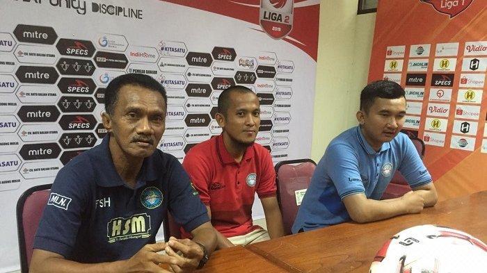 Gagal Promosi ke Liga 1, Frans Sinatra Huwae : Wasit Selalu Rugikan Martapura FC