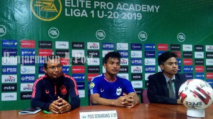 Hasil Barito Putera U-20 vs PSIS Semarang U-20, Kalah 2-1, PelatiH PSIS Akui Soliditas Barito Putera
