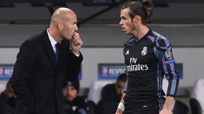 Pemaian Los Blancos Cedera, Zidane Malah Izinkan Bale atau Pemain Lainnya untuk Hengkang