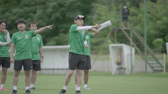 Pelatih Shin Tae-yong memuji penampilan para pemain Timnas Indonesia U-19 dalam laga uji coba menghadapi Qatar