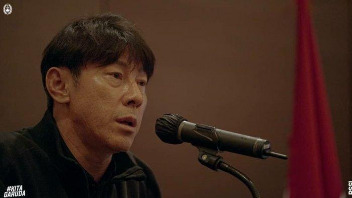 Respons Shin Tae-yong Saat 6 Pemain Timnas Indonesia Diganjar Kartu Kuning