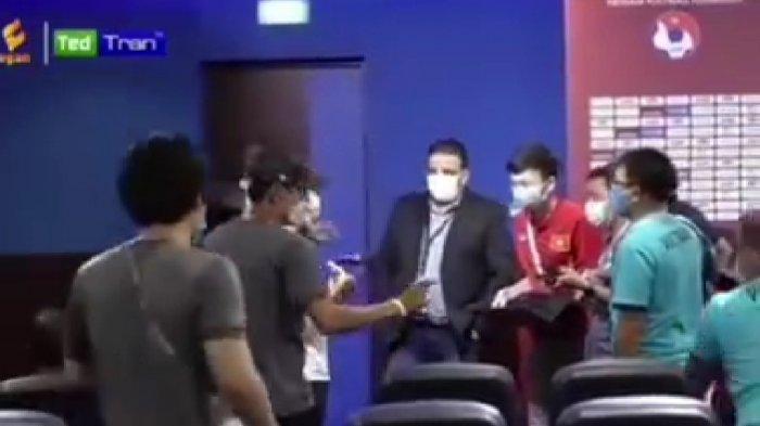 Momen Shin Tae-yong Ngamuk Jelang Laga Timnas Indonesia vs Vietnam, Konpers Bikin Panas