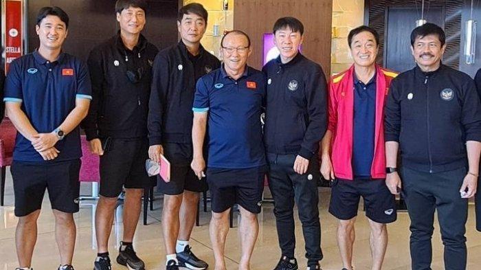 Statistik Membuktikan, Pelatih Timnas Indonesia Shin Tae-yong Masih di Atas Pelatih Vietnam