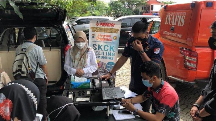 Dukung Polri Presisi, Yanmin Ditintelkam Polda Kalsel Jemput Bola Andalkan Program SKCK Keliling