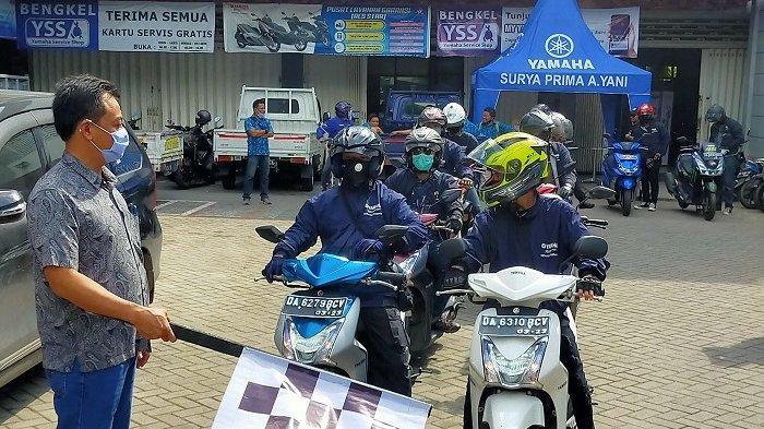 Touring Generasi 125 - Bersama FreeGO dan Mio M3, Yamaha Jelajahi Alam Kalimantan Selatan